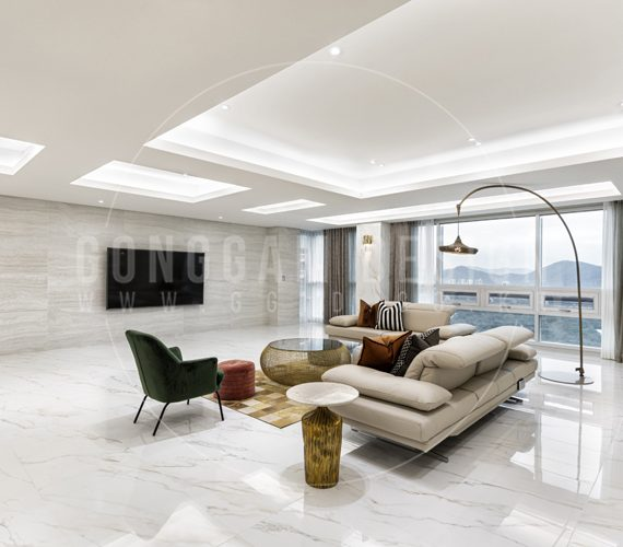 거실(1) 서초동 100평대 아파트 주상복합 인테리어